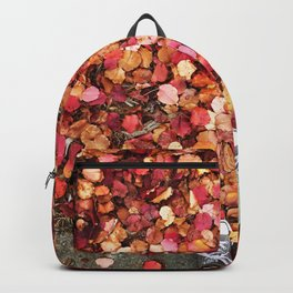 Christmas Leaves in Sonoma County Backpack