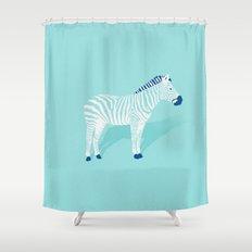 Animal Kingdom: Zebra II Shower Curtain