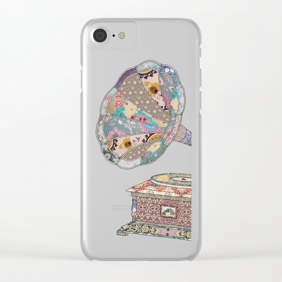 SEEING SOUND Clear iPhone Case