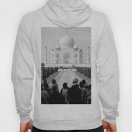 Taj Mahal with people Hoody