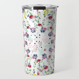 Floral Rhapsody Travel Mug
