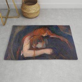Edvard Munch - Love and Pain (The Vampire) Rug