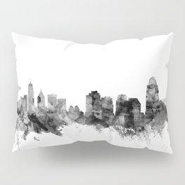 Cincinnati Ohio Skyline Pillow Sham