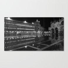 Liquid Venice Canvas Print