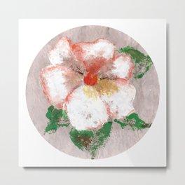 Flor X (Flower X) Metal Print