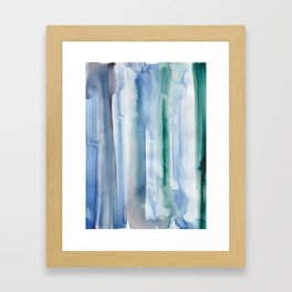 17   | 190907 | Watercolor Abstract Painting Framed Art Print