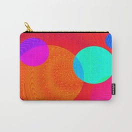 Re-Created Twisters No. 4 by Robert S. Lee Carry-All Pouch