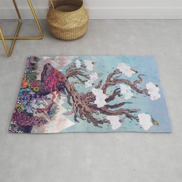 Journeying Spirit (deer) Rug
