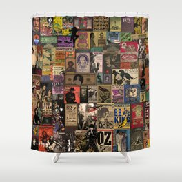 Rock n' roll stories II Shower Curtain