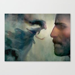 Kaladin and Syl Canvas Print