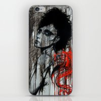 pain iPhone & iPod Skins featuring Pain by Clayton Young