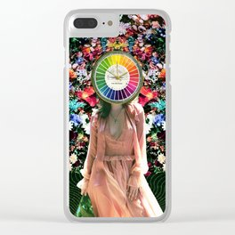 Color theory Clear iPhone Case