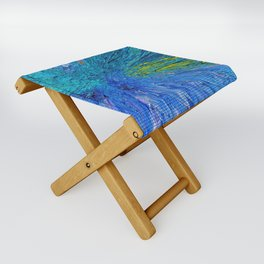 """Swat!"" Painting Folding Stool"