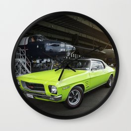 Holden HQ Monaro GTS Wall Clock