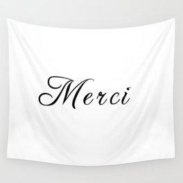 merci Wall Tapestry