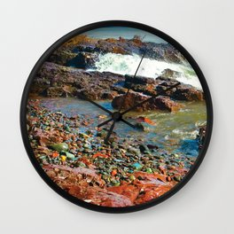 Rocky Shore 2 Wall Clock