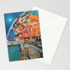 Moon Burn Stationery Cards