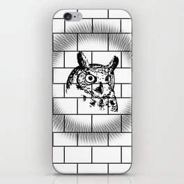 Gawking Owl iPhone Skin