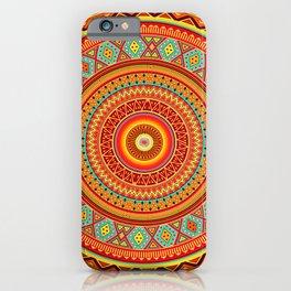 Mandala Aztec Pattern iPhone Case