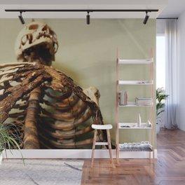 Foley Skeleton Wall Mural