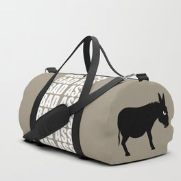 Angry Animals: Bad Ass Donkey Duffle Bag