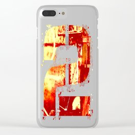-2- Clear iPhone Case