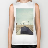 dwight schrute Biker Tanks featuring the dwight d eisenhower lock by Amanda Stockwell