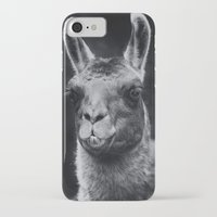 lama iPhone & iPod Cases featuring Lama by Oliver Wutscher