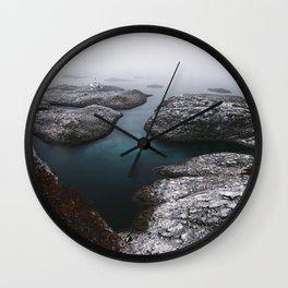 Skrova Lighthouse Wall Clock