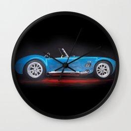 Shelby Cobra painting Wall Clock