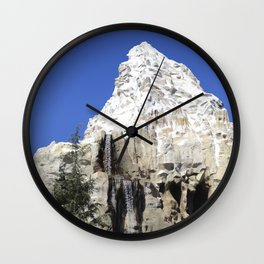 Matterhorn Mountain II Wall Clock