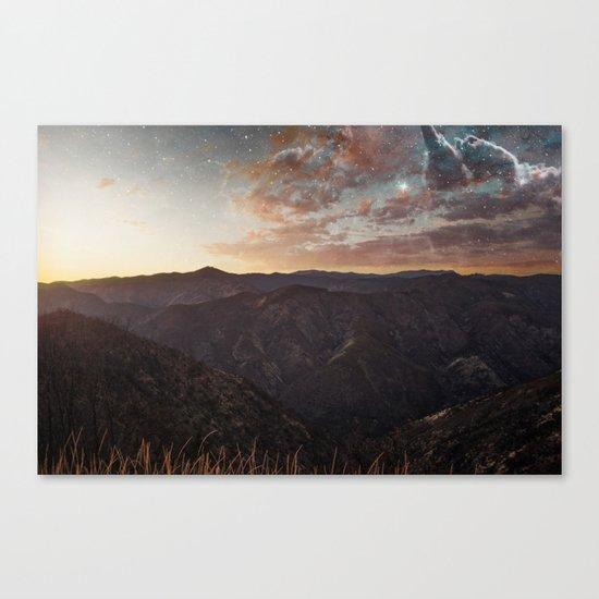 Sundown Yosemite Canvas Print