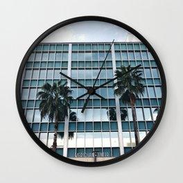 meridian centre miami beach Wall Clock