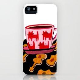 a cup of calmness .. iPhone Case
