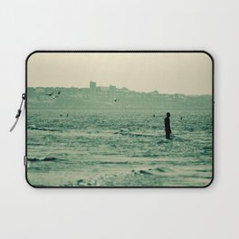 Out in the Ocean Laptop Sleeve