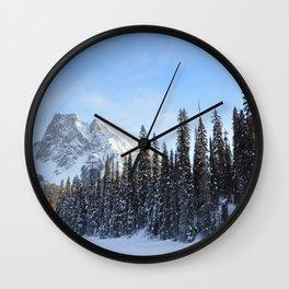 Timber Rock Wall Clock