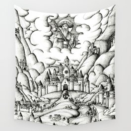 Pilgrimage to Santiago Wall Tapestry