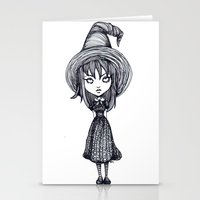 witch Stationery Cards featuring Witch by Margret Stewart
