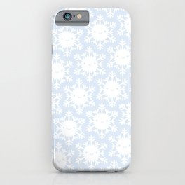 Kawaii Winter Snowflakes iPhone Case