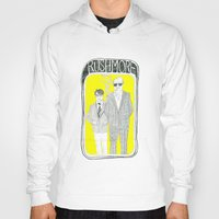 rushmore Hoodies featuring Rushmore by Mexican Zebra