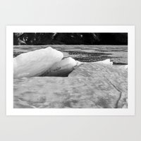 Spring Ice Two Art Print