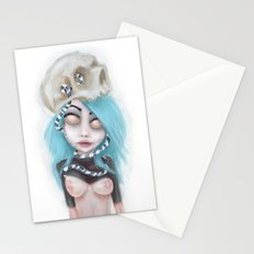 (Wearing Away) Blue Stationery Cards