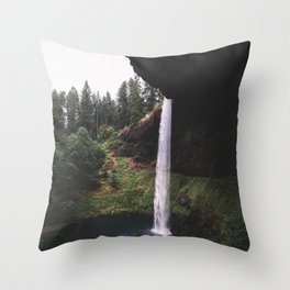 Siver Falls Throw Pillow