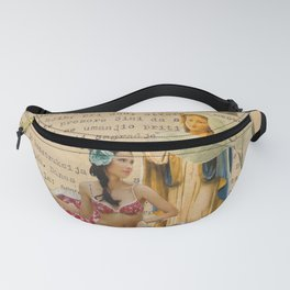 splash collage Fanny Pack
