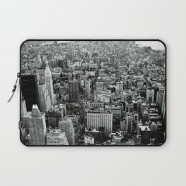 NEW YORK CITY # Black&White Laptop Sleeve