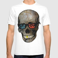 Life Seems Much More Exciting For Skullboy Since He Got A New Pair Of Glasses Mens Fitted Tee MEDIUM White
