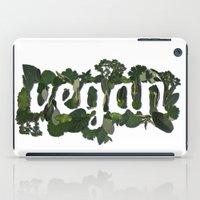 vegan iPad Cases featuring Vegan by Kopie Creative