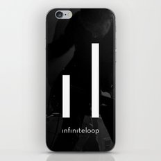 infiniteloop art iPhone & iPod Skin