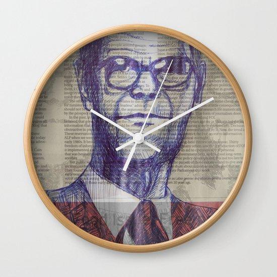 cream Wall Clock