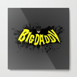 Big Daddy Splash logo Metal Print